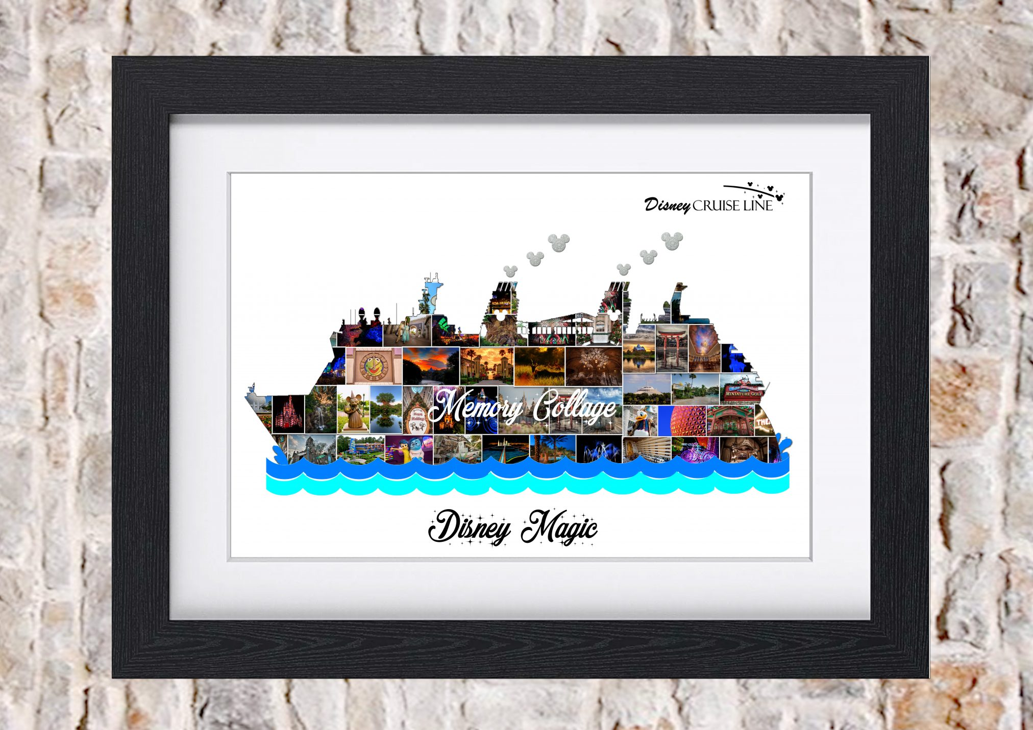 Cruise Line Fantasy Magic Amp Wonder Photo Collage Memory