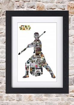 Rey Framed